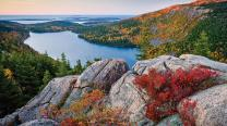 Acadia National Park in Maine (via Travel Channel). Photo © by Maine Office of Tourism