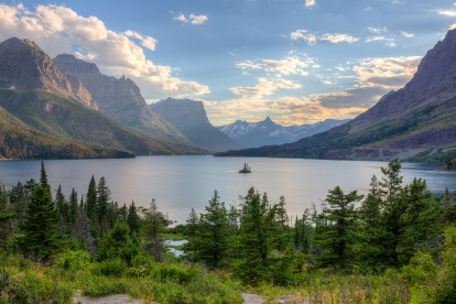 Glacier – St. Mary Lake – Glacier National Park. Photo © Jeff Krause